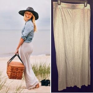 GRAY STRAIGHT MAXI SKIRT PERFECT FOR LLR TOPS